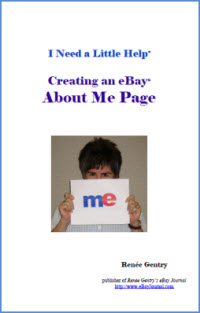 Creating eBay About Me Pages ebook